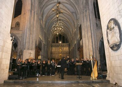 Canticum at Marie Curie Charity concert