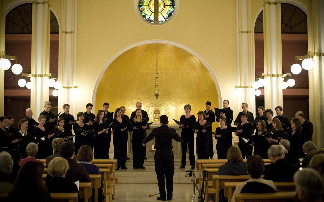 Eaton Square concert, Durufle Requiem, Martin's Mass